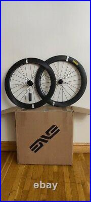 Enve Foundation 65 Carbon Fiber Wheelset Disc Shimano Freehub Brand New