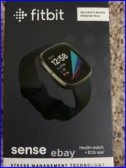 Fitbit Sense BRAND NEW Advanced Health & Fitness Smartwatch, Carbon/Graphite