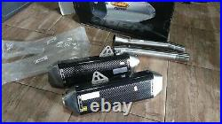 Fmf exhaust dual slip-on for Hayabusa 1999-2007 carbon brand new, never used
