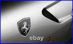 Genuine Ferrari 599 GTO Carbon Fiber Fender Shields OEM Brand NEW Part# 70001822