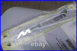 Genuine McLaren MP4-12C Carbon Fiber Tail Hood Emblem Badge 11A9382CP Brand New