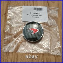 Genuine Mclaren 540C 570S Red Carbon Fibre Hub Cap 1 Piece Brand New