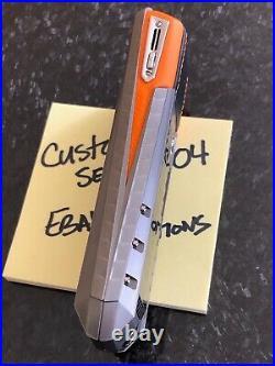 Genuine Vertu Ascent X Carbon Fiber Orange A must own Super RARE Brand NEW BOX
