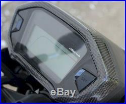 HONDA GROM/SF TYGA REAL CARBON FIBER Instrument Surround Cover BRAND NEW