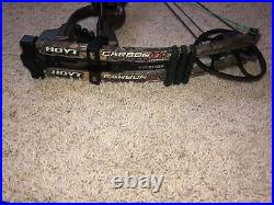 Hoyt Carbon Spyder ZT Turbo. 70lbs, 29 in Draw. Strings Brand New. No Reserve