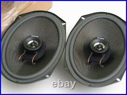 JDM Honda Gathers 6x9 6x9 Coaxial Carbon Speakers GS-4669 EK9 CTR Brand New