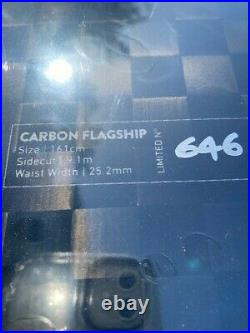 Jones Snowboard Carbon Flagship Limited To 646 Brand New Factory Sealed
