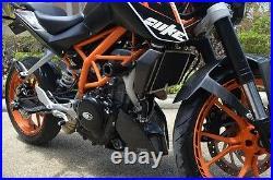 KTM Duke 125 200 390 side covers pair carbon brand new USA
