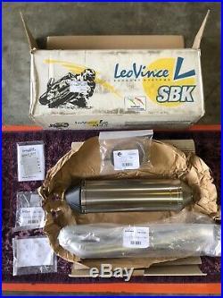 Leo Vince Titanium Carbon EVO II Slip On Suzuki GSXR 1000 Brand New