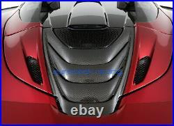 McLaren 720s Spider Carbon Fiber Engine Cover/Rear Deck Lid Cover BRAND NEW