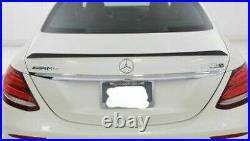 Mercedes-Benz OEM W213 E Class Sedan Carbon Fiber Spoiler Brand New AMG Spoiler