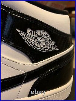 Nike Air Jordan 1 Mid Carbon Fibre ASW UK 9/US10 Brand New DS