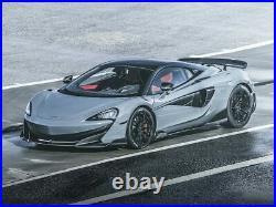 OEM MSO McLaren 600LT Carbon fiber louvered fenders, brand new