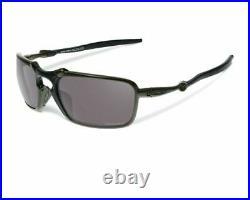 Oakley BADMAN POLARIZED Sunglasses OO6020-06 Carbon Frame With PRIZM BRAND NEW