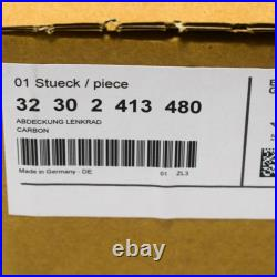 Oem Bmw M2 F87 Steering Wheel Cover M Performance Carbon 32302413480 Genuine