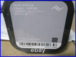 Peak Design Carbon Fiber Travel Tripod TT-CB-5-150-CF-1 Brand New Sealed
