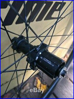 Prime BlackEdition 38 Carbon Wheelset. Almost brand new