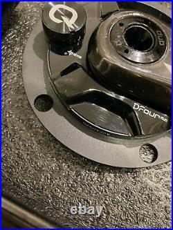 Quarq DUB Dzero power meter D1 carbon cranks + R9100 pedals BRAND NEW (DISPLAY)