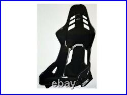 Recaro Podium Seat, Carbon Fiber Reinf. Shell, Fia, Perlonvelours Black, Brand New