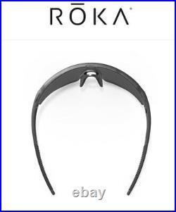 Roka SR-1 Sunglasses Matte-Black With Extra Carbon Color Less (Brand New)