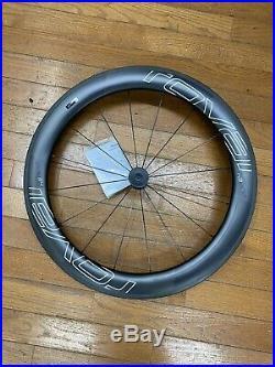 Roval CLX 64 Carbon /Rim Brake/Clincher Front Wheel Team Graphics Brand New