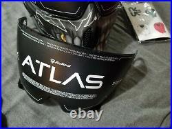 Ruroc Atlas Sport Fear Carbon Motorcycle Helmet Size M skull design. Brand new
