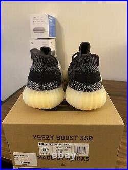 SIZE 6.5 Adidas Yeezy Boost 350 V2 Carbon Mens Brand New FZ5000