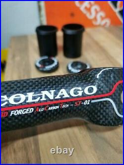 STUNNING COLNAGO ST-01 CARBON WRAPPED STEM BRAND NEW Master/c40/C50 RARE