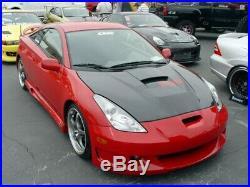 Seibon Carbon Fibre Bonnet VSII Style fits Toyota Celica 2000-2005