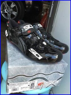 Sidi Wire Vent Carbon Push Road Bike Shoes, Brand New, Size 45.5 Eur