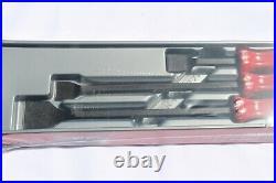 Snap On Carbon Scraper Set 3 pc. Red Hard Handle Brand New CSA300AR