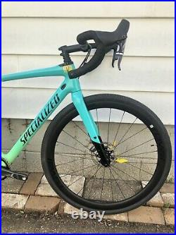 Specialized Diverge Expert X1 56 Custom Lots of Brand New Parts + Carbon Wheels