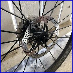 Spinergy Stealth FCC 4.7 Carbon Wheel Set with rotors/cassette/tires, BRAND NEW