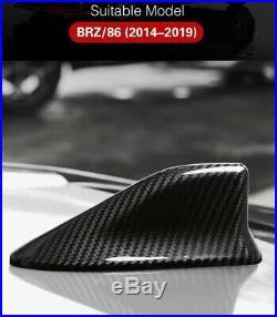 Subaru BRZ Toyota 86 REAL Carbon Fiber Antenna Roof Fin/Cover Brand New