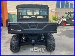 Tactical Black Carbon Polaris Ranger XP900, EPS, HOT/COLD AIR, Brand new tires