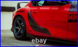 Toyota GR Supra 20-21 Brand New SEIBON Carbon Fiber Door Garnishes LAST LISTING