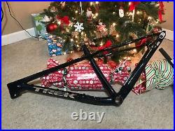 Trek Farley 9.6 Carbon Smoke Blue Fat Bike Frame Set Brand New in Box Medium