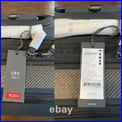 Tumi BRAND NEW Eastwood International Expandable Carry On (4-Wheel), Carbon
