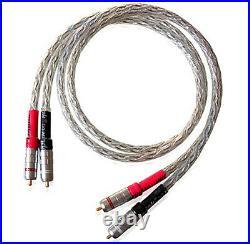 Xindak CFA-1 Carbon Fiber Interconnect Cable Pair CFA1 Brand New