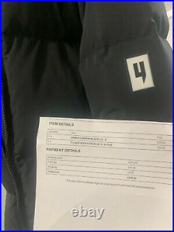 Yelir Parka Carbon Black Brand New With Proof Of Purchase