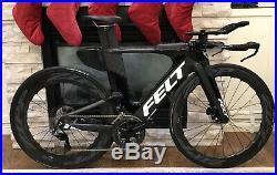Zipp 454 NSW front + 858 NSW WheelSet 700c Carbon Clincher DISC Brakes Brand New